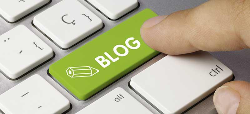 Blogin kirjoittaminen